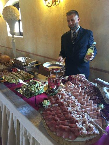 Catering per gli eventi privati