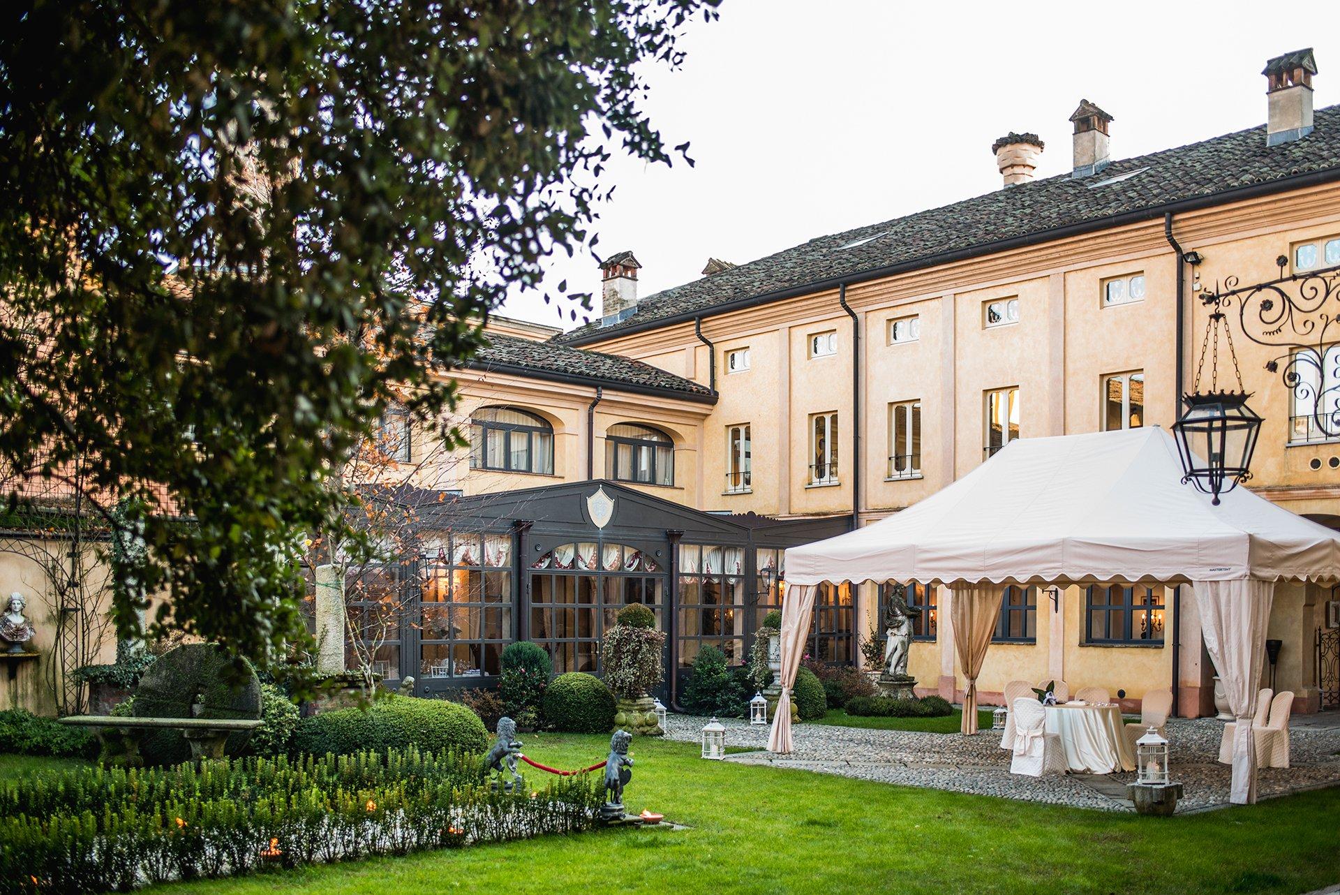 villa per cerimonie eleganti