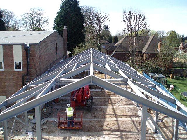 Fabrication - Chichister, West Sussex - Southfield Structural Services Ltd  - Architectural 10