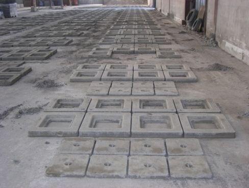 Produzione tombini in cemento
