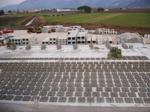 Produzione manufatti in cemento