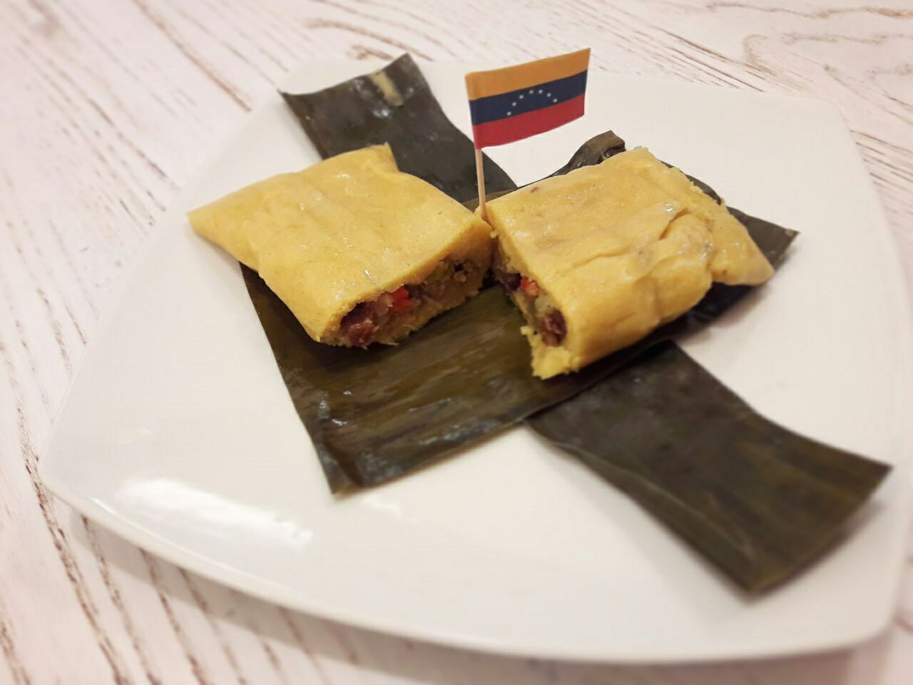 panino al prosciutto tipico venezuelano