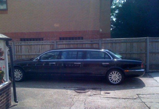 hearse limousine