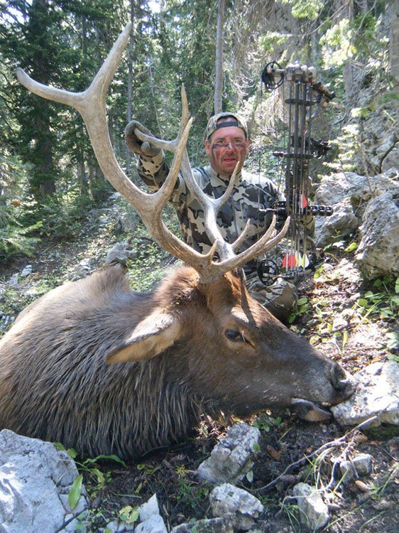 Wyoming elk hunting outfitter