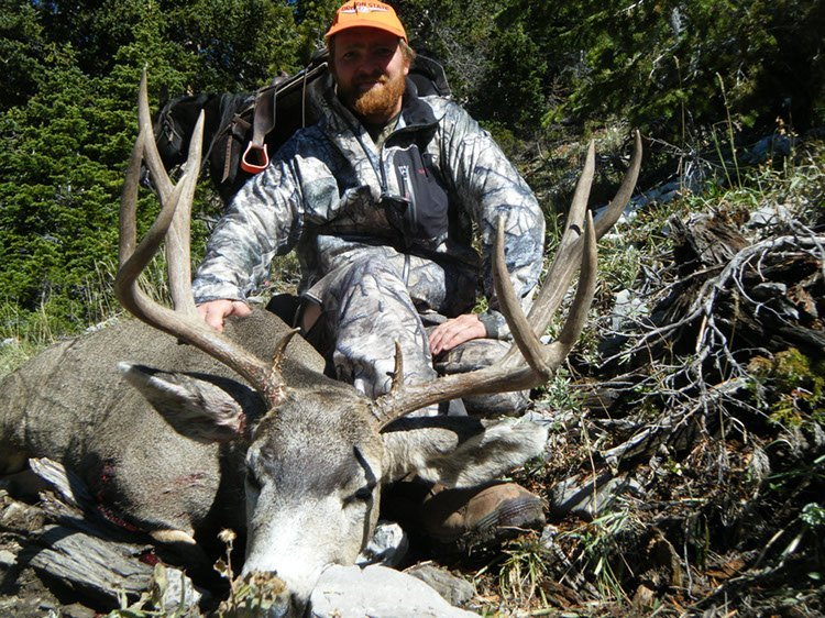 Wyoming mule deer hunt