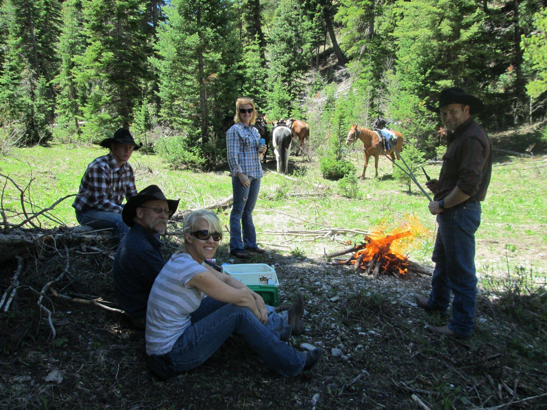 Wyoming horse back trip