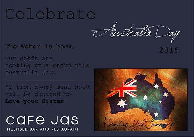 Cafe Jas Australia Day 2015