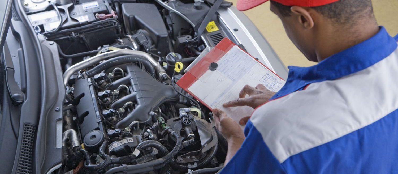 engine check during car repair in Rice Lake, WI
