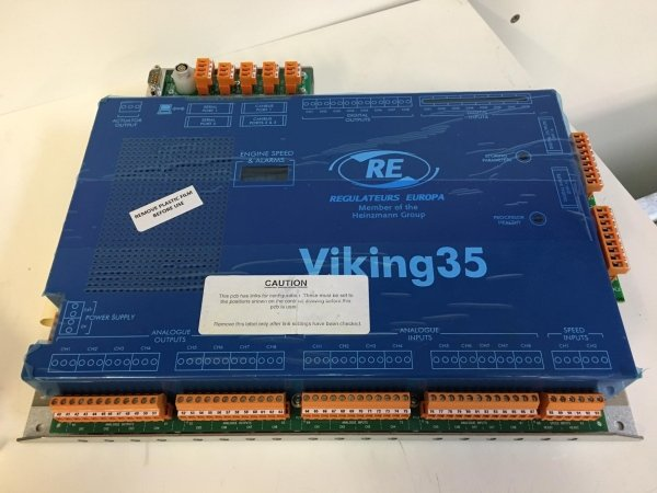 Regolatori di giri digitali Viking 35