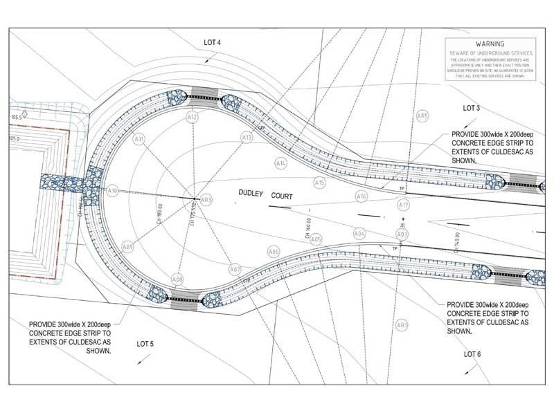 road design layout plans