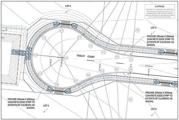 Civil - Road Design Layout