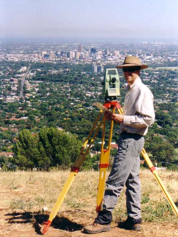 surveyor over city