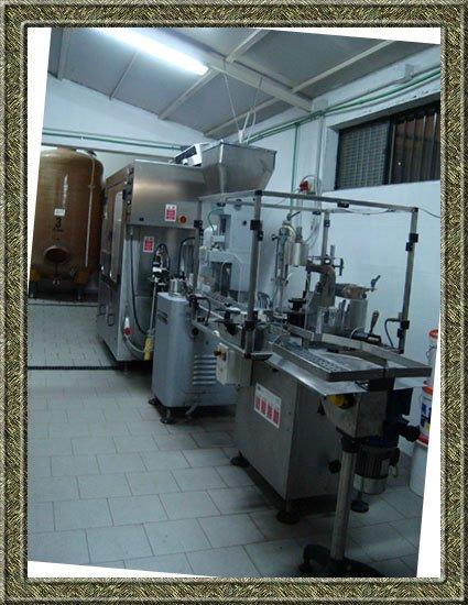 Dei macchinari in un industria