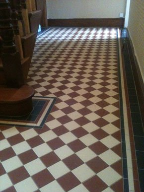 Floor tiles - Newport, Isle of Wight - Wight Tile Ltd - Bathroom borders
