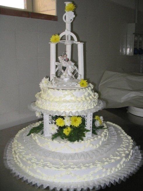 Realizzazione torte personalizzate per ricevimenti nuziali