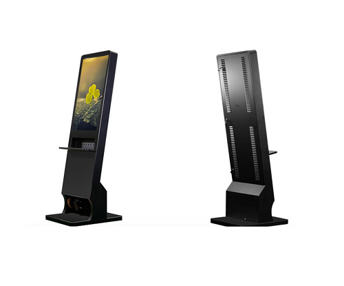 Floor model cell phone charging stations kiosks lockers Cell phone charging station