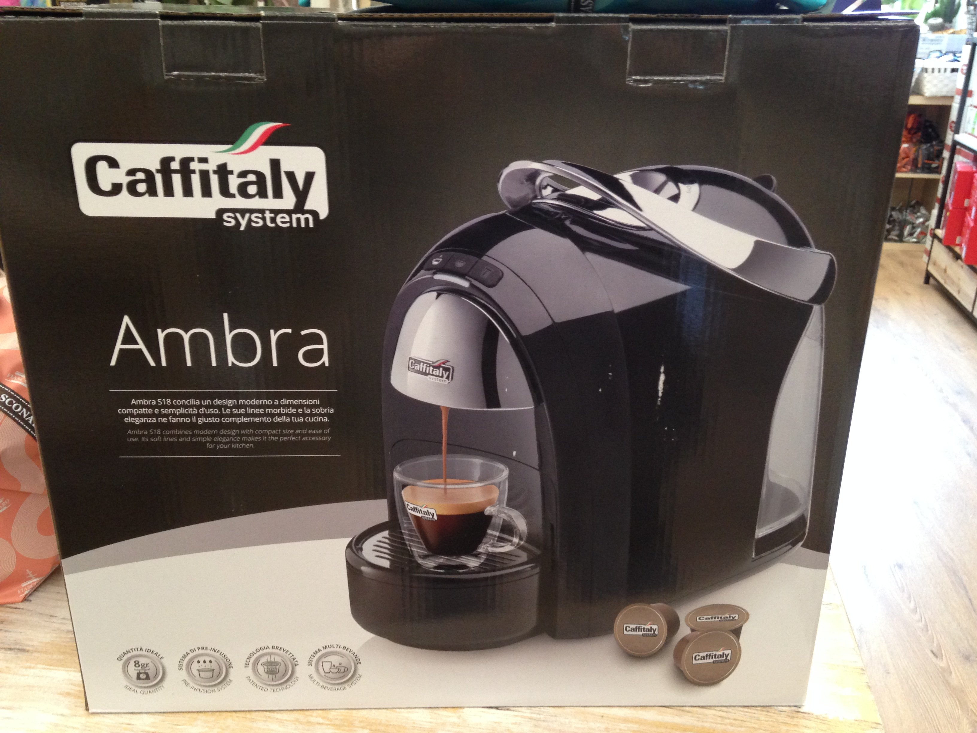 Ambra S18 Caffitaly System