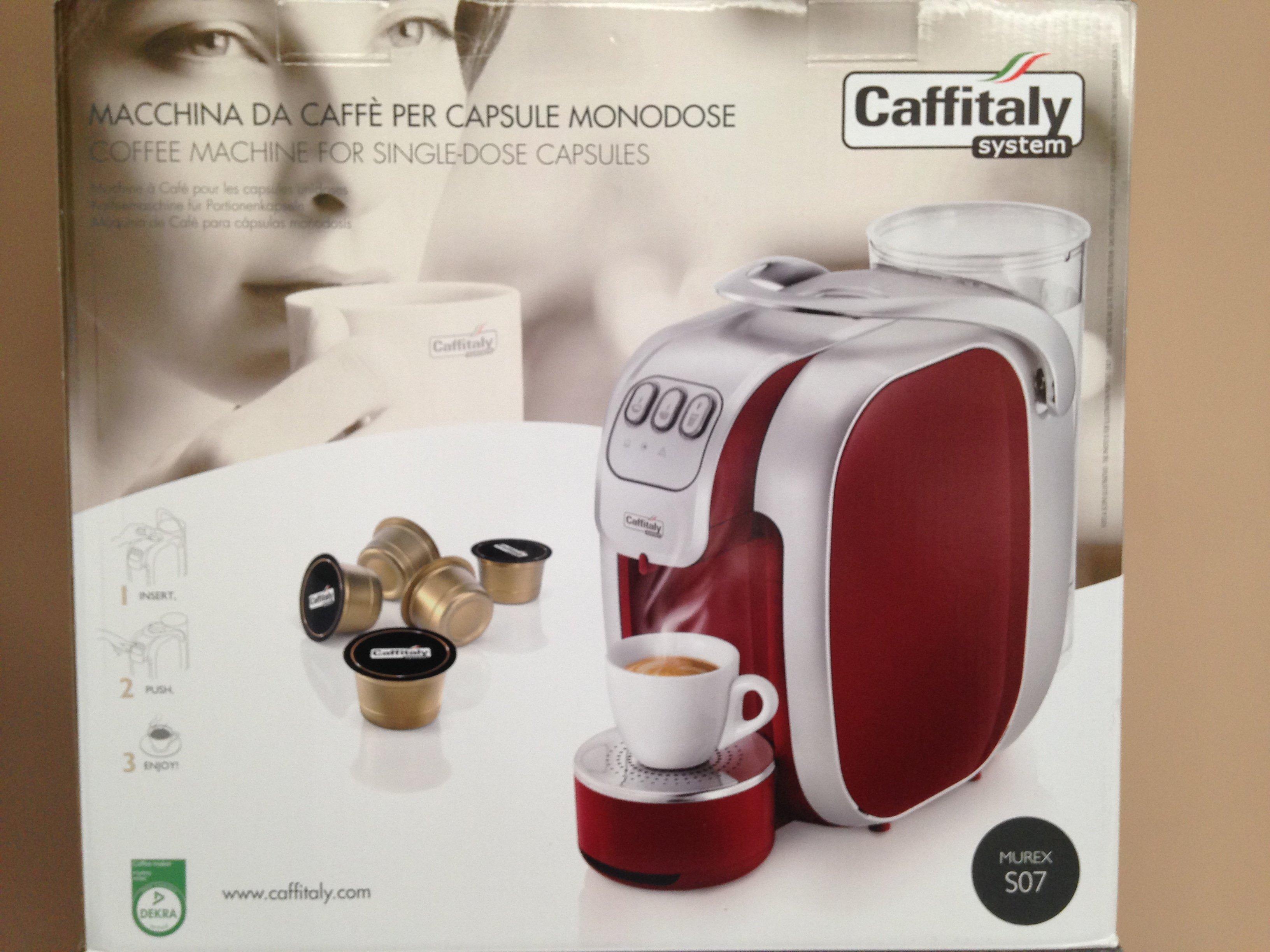 Murex S07 macchina da caffé per capsule monodose