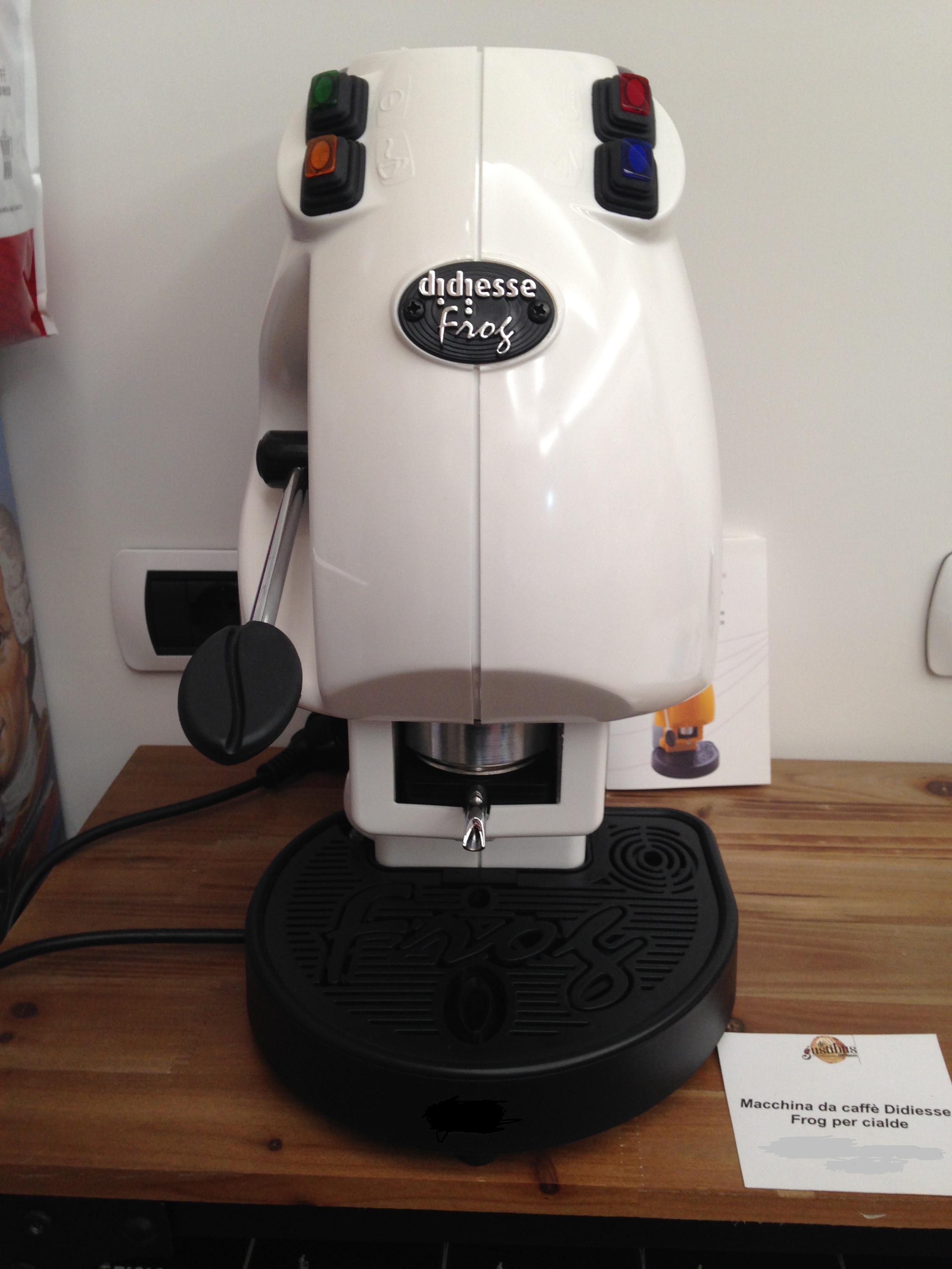 Didiesse frog macchina da caffé per cialde