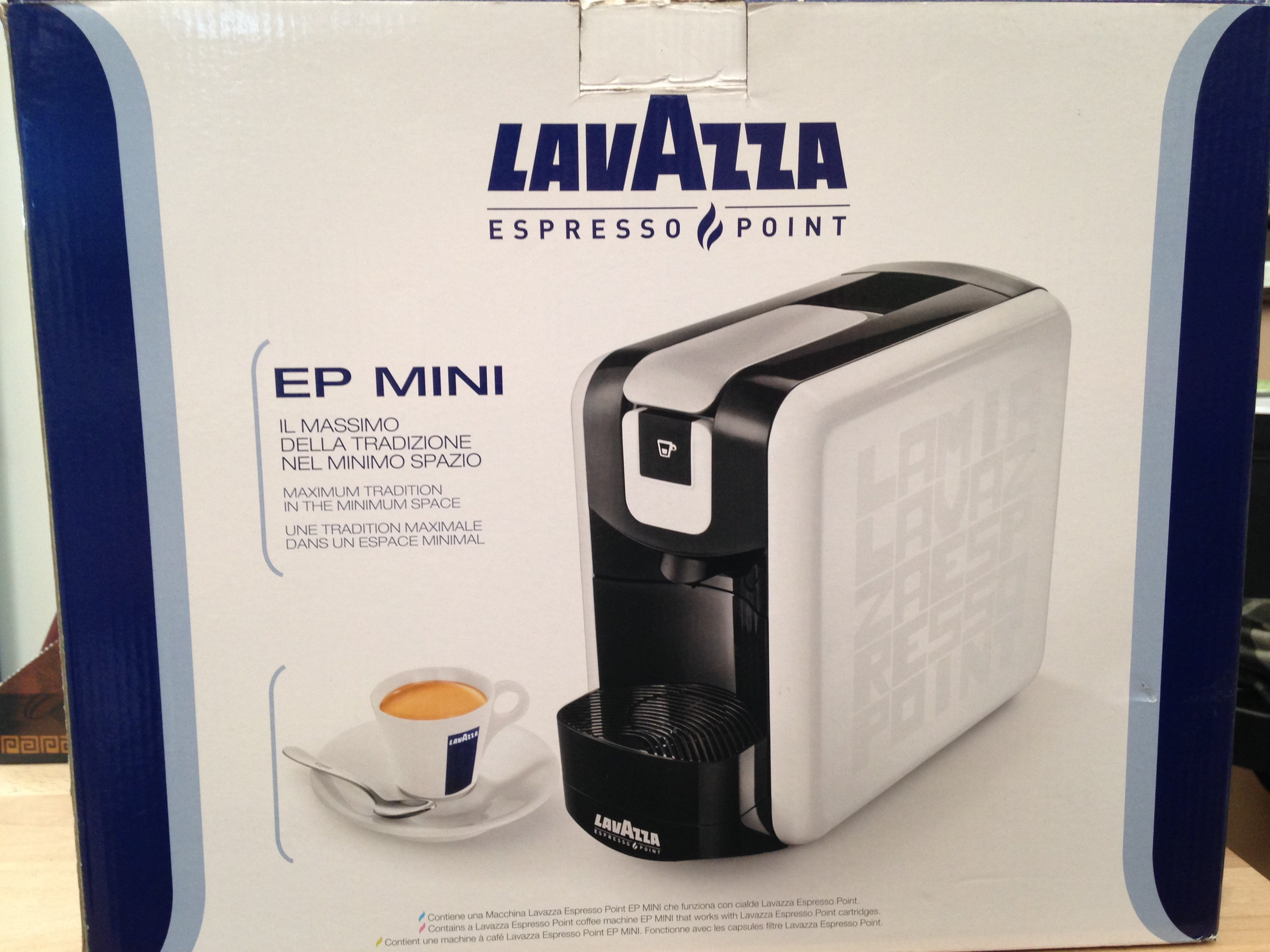 EP Mini Lavazza espresso point