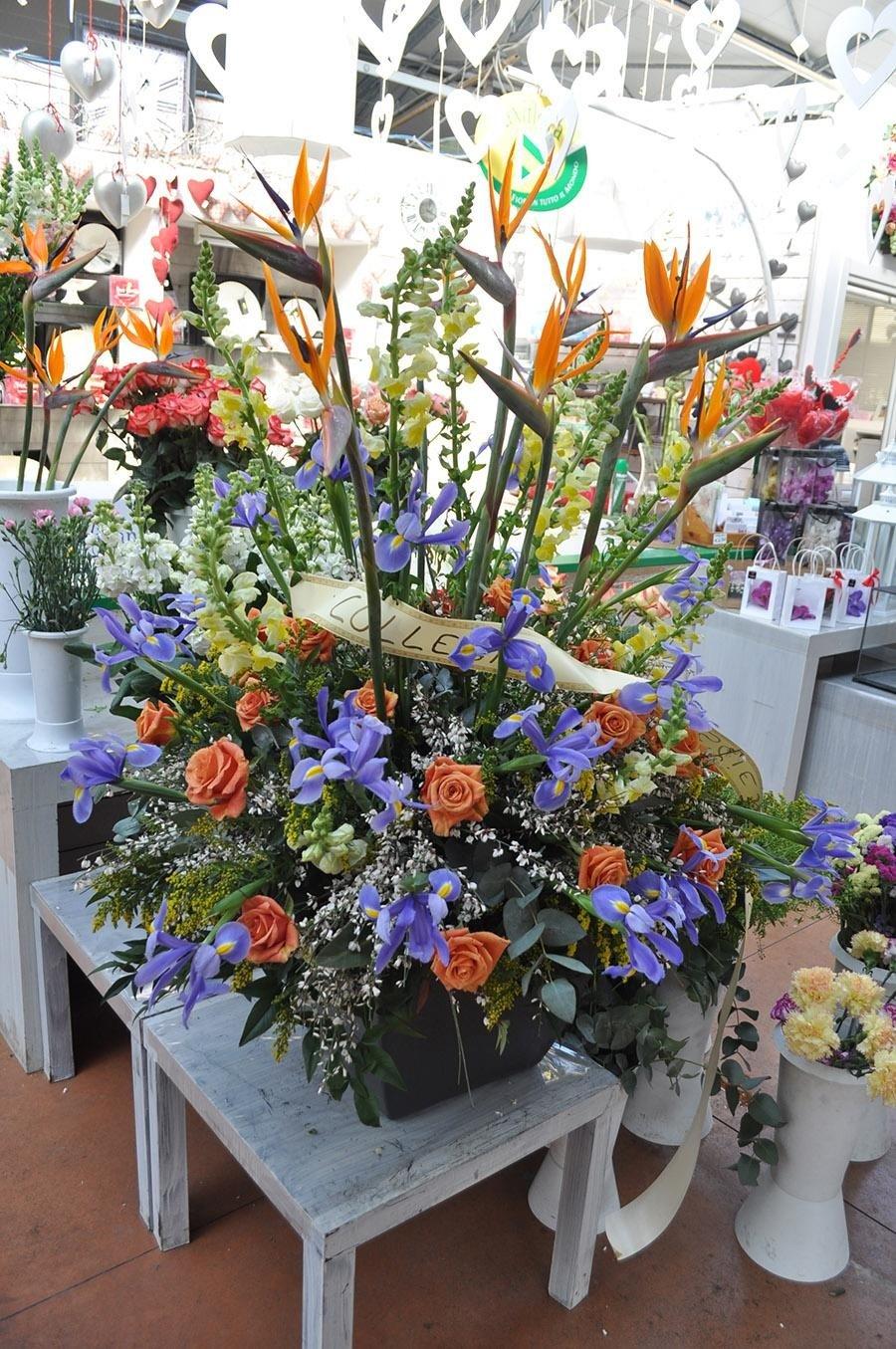 arredamento con fiori