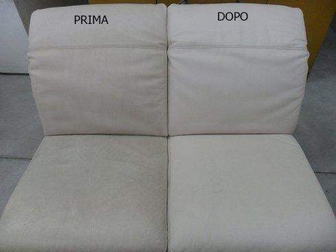 divano microfibra pulito