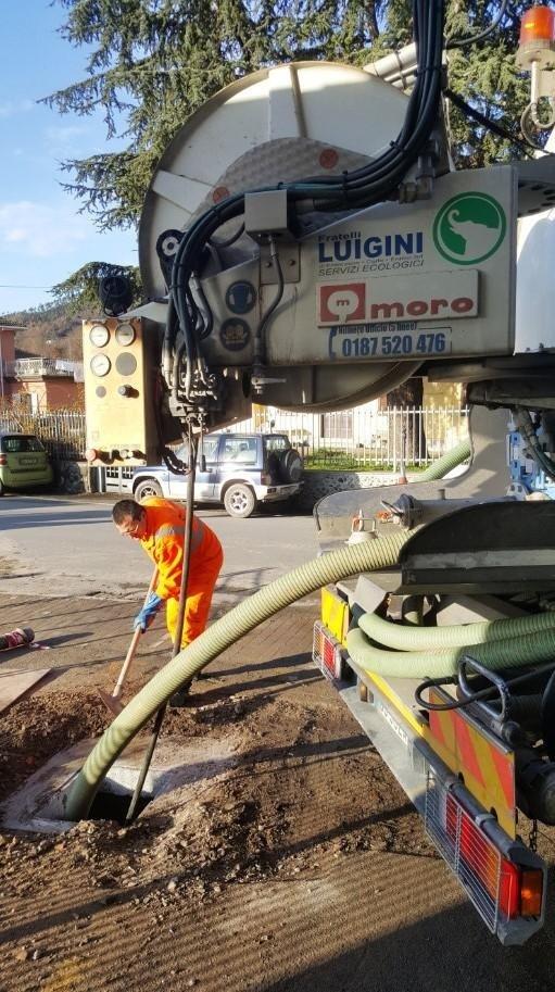 disostruzione pozzi neri  La Spezia Luigini ecologia