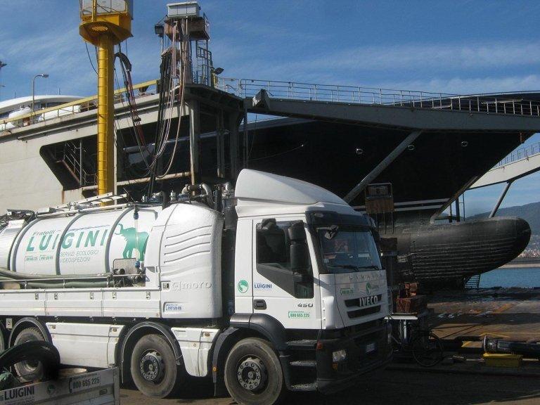Luigini Ecologia pulizia fognature La Spezia