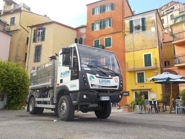 Luigini Ecologia spurgo La Spezia