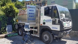 canal jet videoispezioni tubature Luigini Ecologia la Spezia