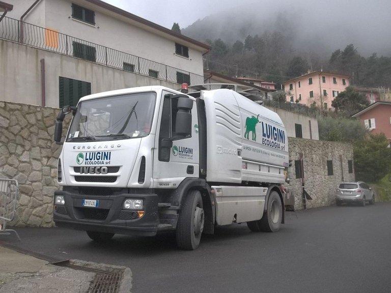Luigini Ecologia spurgo emergenze La Spezia