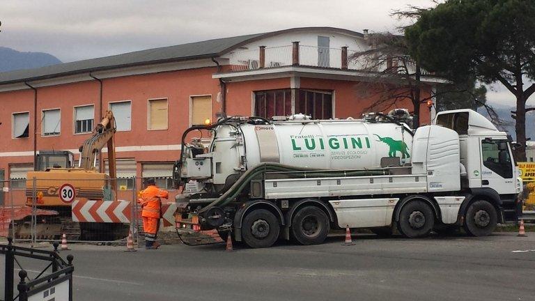 Luigini Ecologia emergenze agosto spurgo La Spezia