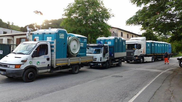 Noleggio Servizi Igienici WC La Spezia