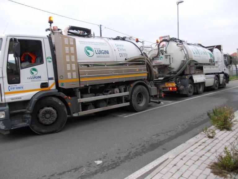 Luigini Ecologia pulizia manto stradale La Spezia