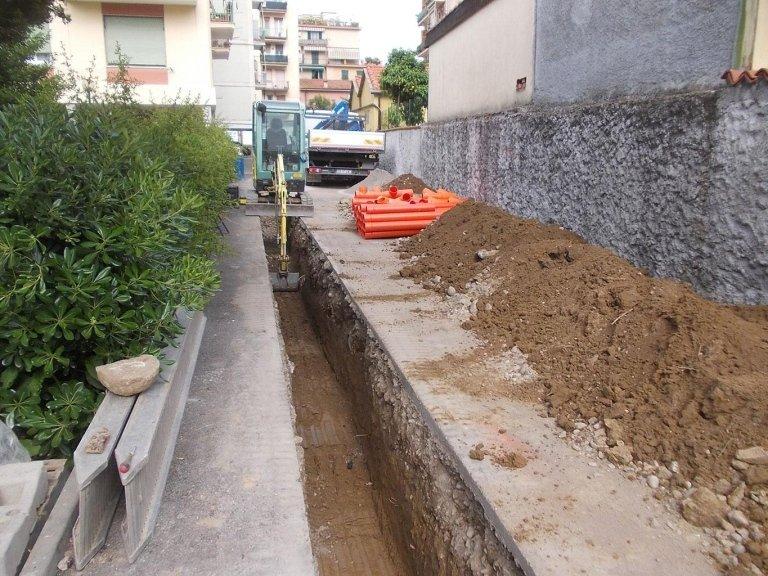 Posa Fognature La Spezia