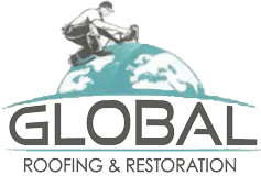 global roofing and restoration logo