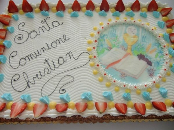 torte per comunione