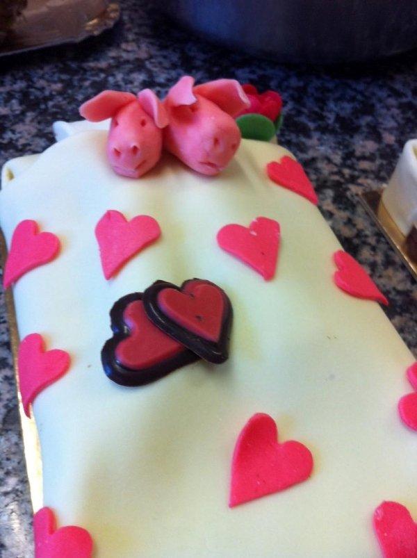 torta personalizzata san valentino
