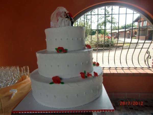 torte decorate matrimonio
