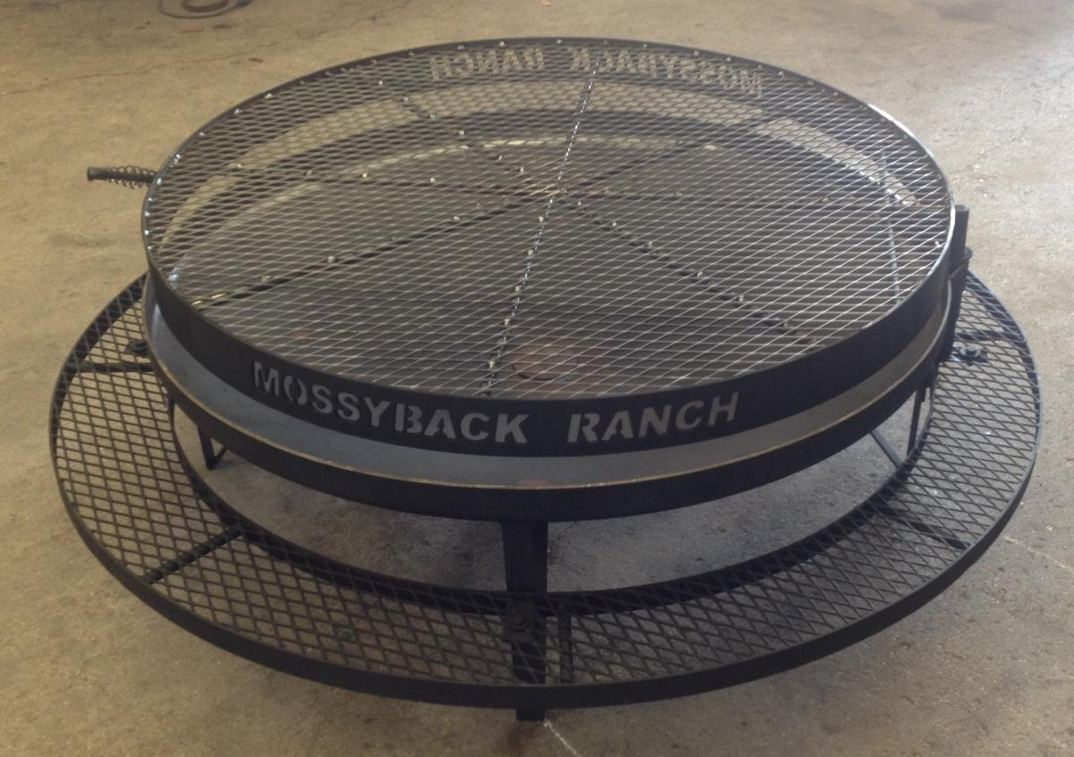 Custom Made Fire Pit in Bryan, TX