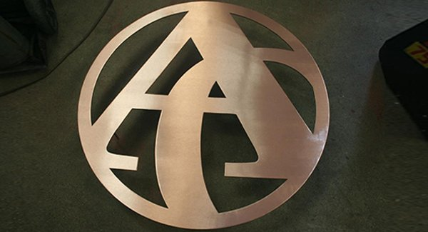 Custom Copper Logo in Bryan, TX