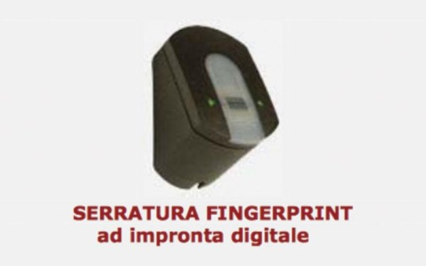 serratura fingerprint