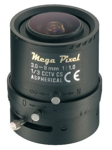 obiettivo telecamera