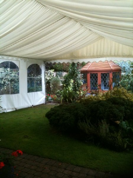 marquee party hire