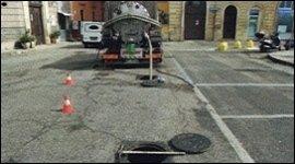 Manutenzione fognatura stradale