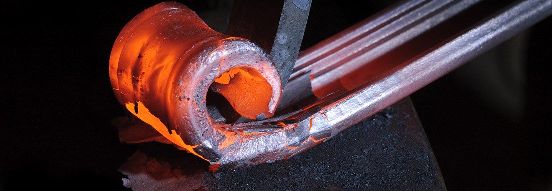 Lavorazione in ferro battuto a Favara