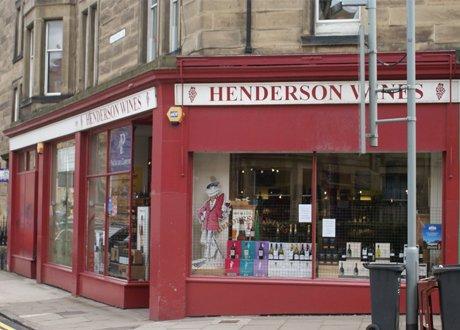 Henderson Wines store Edinburgh