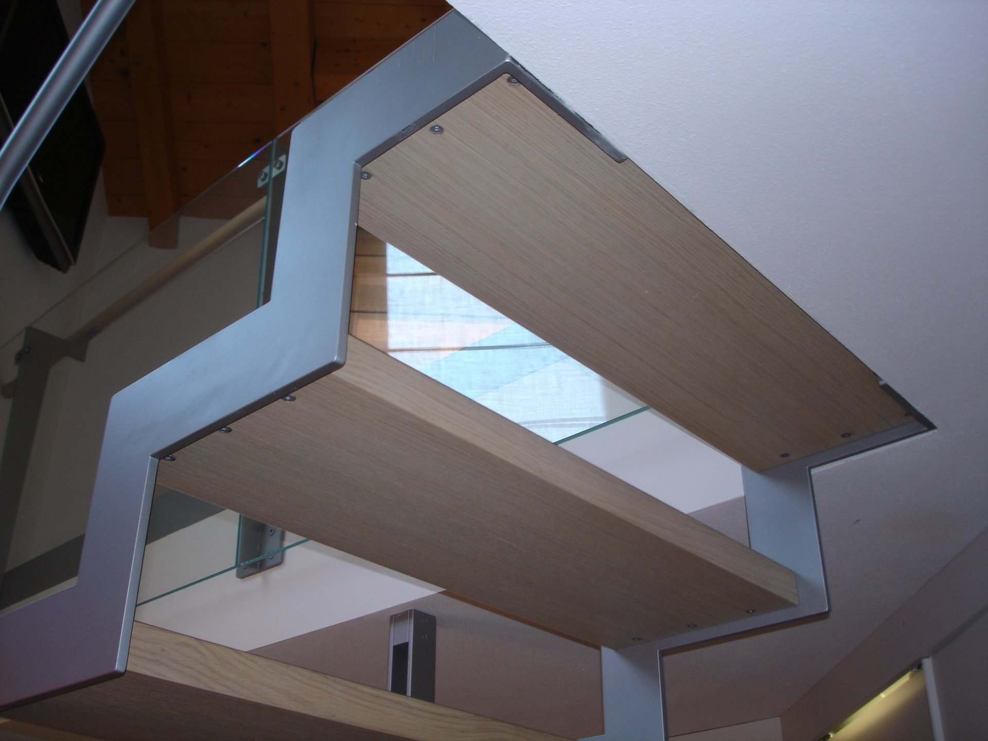 dettaglio di scala in legno