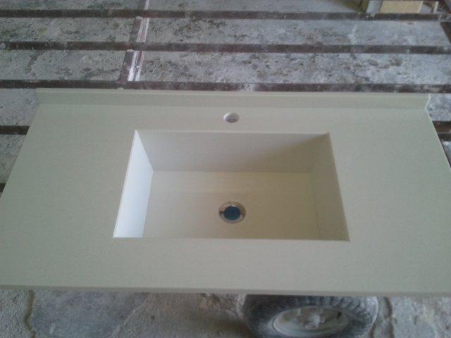 lavello bagno in marmo