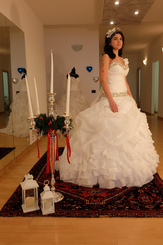 Prova abiti da sposa in Atelier